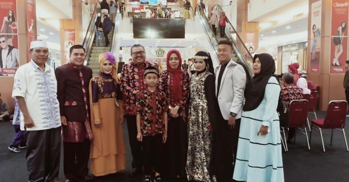 Dua Bintang Vokalis Qasidah Bungo Meraih Juara