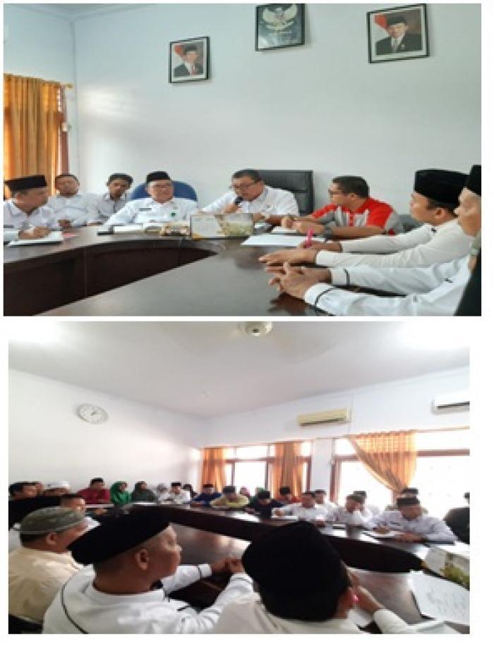 Kankemenag Kab. Bungo Gelar Rapat Internal Persiapan MTQ ke 49 Tingkat Provinsi Jambi