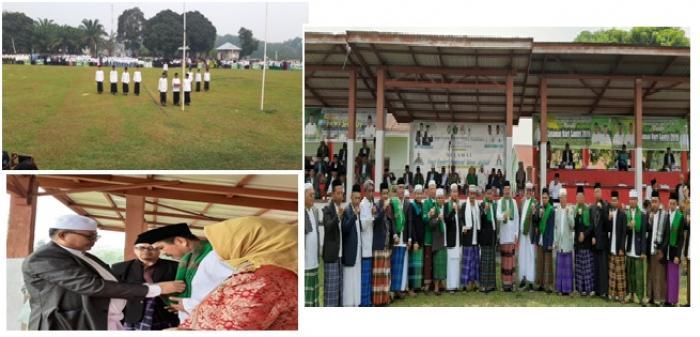 Sukses, Upacara Hari Santri di Kabupaten Bungo Diikuti Ribuan Santri Ponpes