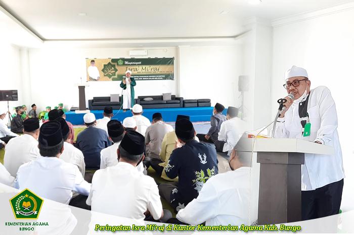 Peringatan Isra Mi'raj Nabi Muhammad SAW di Kantor Kementeri