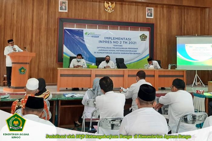 Optimalisasi Jaminan Sosial di Kementerian Agama oleh BPJS K
